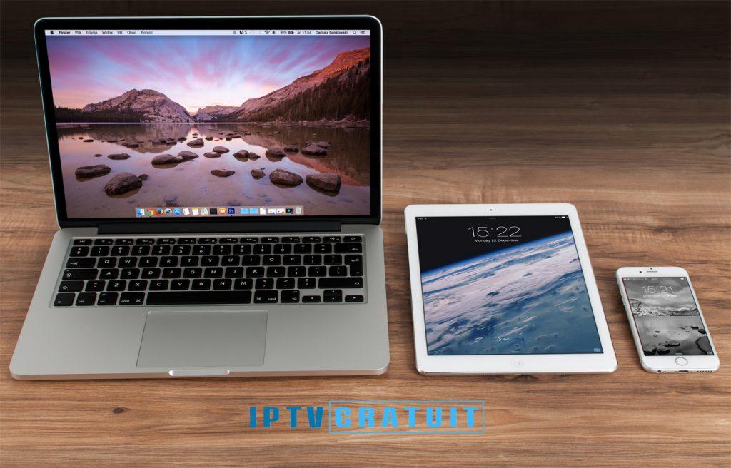 IPTV IPhone et IPad IOS